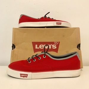 Red Levi's Shoes